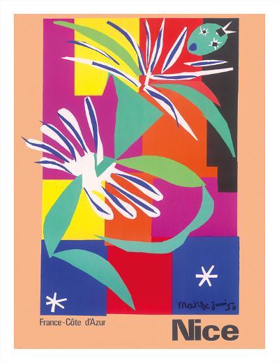 Nice, France - Côte d'Azur-Henri Matisse-Giclee Print
