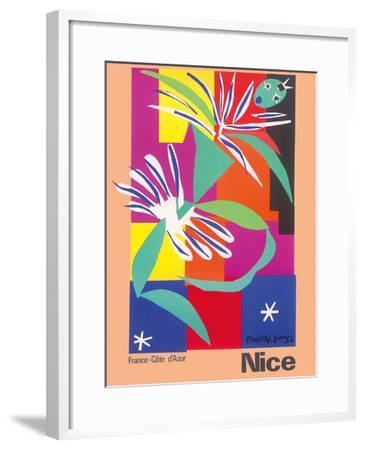 Nice, France - Côte d'Azur-Henri Matisse-Framed Giclee Print