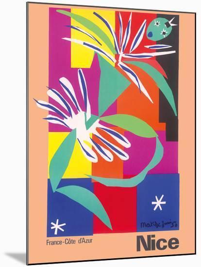 Nice, France - Côte d'Azur-Henri Matisse-Mounted Giclee Print