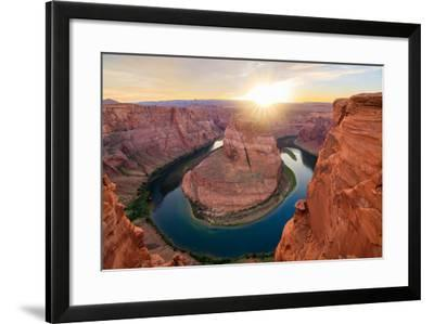 Nice Image of Horseshoe Bend-diro-Framed Photographic Print