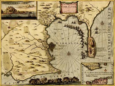 Nice on the Mediterranean - 1700-Anna Beeck-Art Print