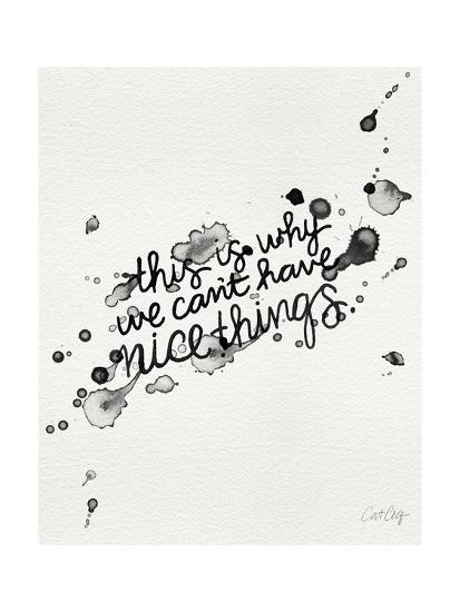 Nice Things-Cat Coquillette-Giclee Print