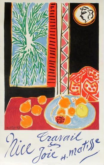 Nice Travail Et Joie-Henri Matisse-Premium Edition