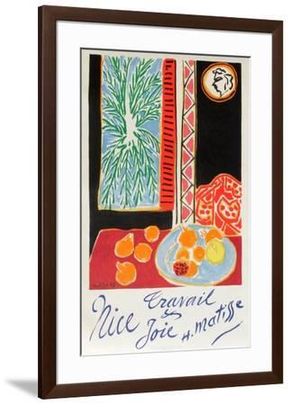 Nice Travail Et Joie-Henri Matisse-Framed Premium Edition