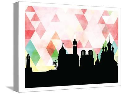 Nice Triangle-Paperfinch 0-Stretched Canvas Print