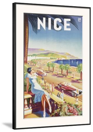 Nice--Framed Art Print