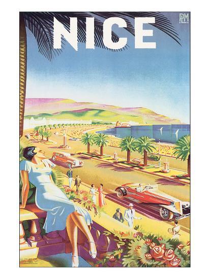 Nice-E^H^ de Hey-Art Print