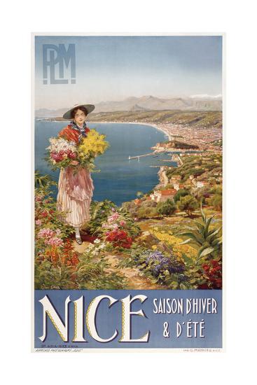 Nice-Marcus Jules-Giclee Print