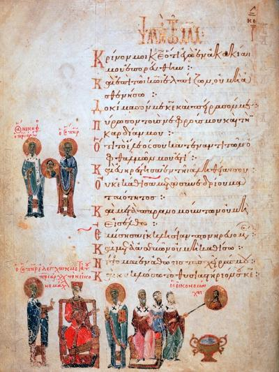 Nicephorus and Iconoclasts, 1066- Theodore of Caesarea-Giclee Print