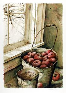 Pail of Apples by Nicholas Berger