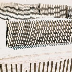 Beach Fence II by Nicholas Biscardi