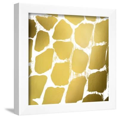 Gold Nairobi Square III (gold foil)