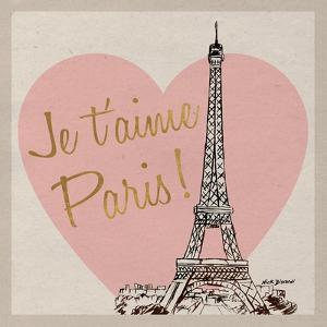 Je t'aime Paris! by Nicholas Biscardi