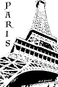 Modern Paris III by Nicholas Biscardi