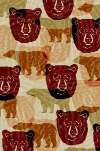 Nature Lodge Pattern I by Nicholas Biscardi