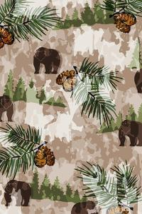 Nature Lodge Pattern III by Nicholas Biscardi