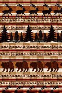 Nature Lodge Pattern V by Nicholas Biscardi