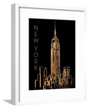 New York on Black