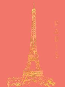 Paris on Coral by Nicholas Biscardi
