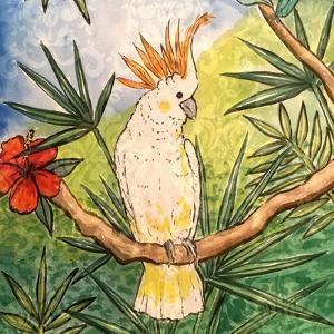 Tropical Bird I by Nicholas Biscardi