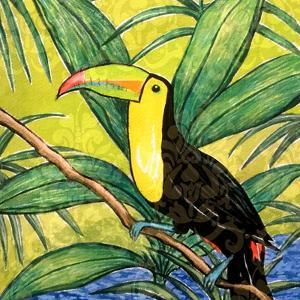 Tropical Bird II by Nicholas Biscardi