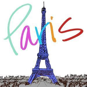 Vibrant Paris by Nicholas Biscardi