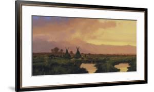 Blackfeet Sunset by Nicholas Coleman