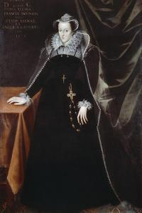 Mary, Queen of Scots (Mary Stuart) by Nicholas Hilliard
