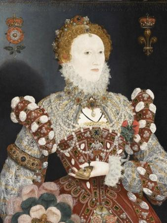 Queen Elizabeth I - the Pelican Portrait, C.1574