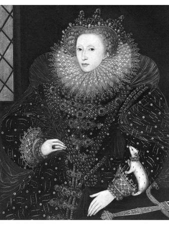 Queen Elizabeth, the Ermine Portrait, 1585
