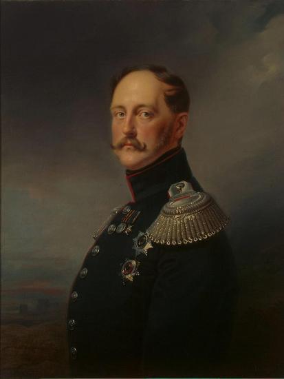 Nicholas I, 1852-Franz Kruger-Giclee Print