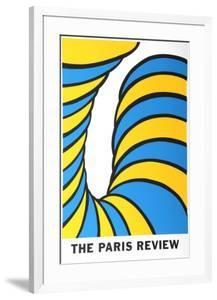 Paris Review by Nicholas Krushenick