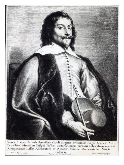 Nicholas Lanier, Engraved by Lucas Vostermans-Jan The Elder Lievens-Giclee Print