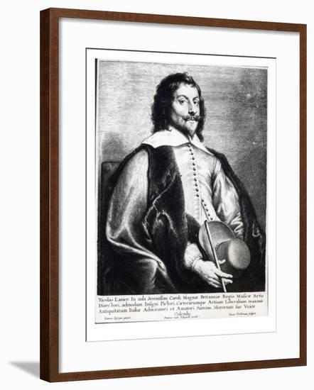 Nicholas Lanier, Engraved by Lucas Vostermans-Jan The Elder Lievens-Framed Giclee Print
