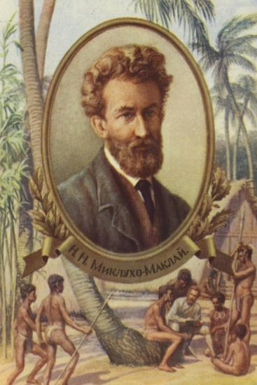 Nicholas Miklouho-Maclay, Russian Explorer and Anthropologist--Giclee Print