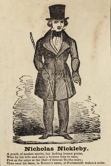 Nicholas Nickleby--Giclee Print