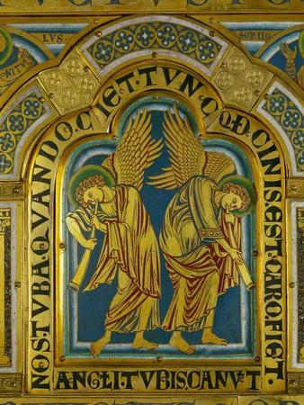 Angels of the Ressurection, from the Verdun Altar
