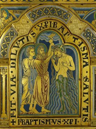 Baptism of Christ, from the Verdun Altarpiece