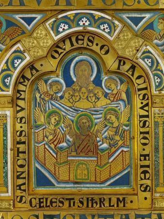 Celestial Jerusalem, Enamel, Verdun Altar, Begun 1181