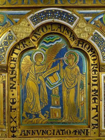 The Annunciation, from the Verdun Altar