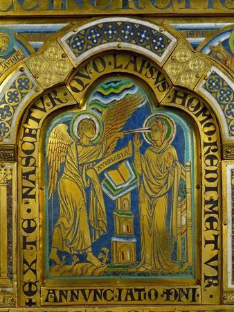 The Annunciation, from the Verdun Altar