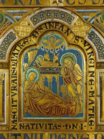 The Nativity, from the Verdun Altar
