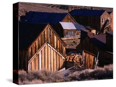 Cluster of Buildings, Ghost Town of Bodie, Eastern Sierra Nevada