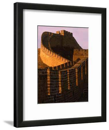 Great Wall of China at Sunset, Badaling, China