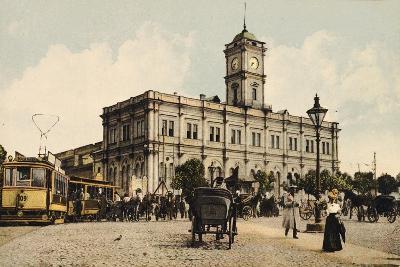 Nicholas Railway Station, Kalanchyovskaya Square, Moscow, Russia, C1904-C1905--Giclee Print