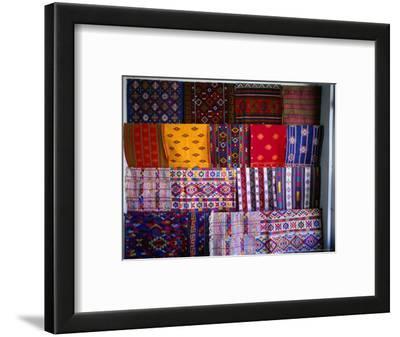 Local Fabrics on Display, Punakha, Bhutan
