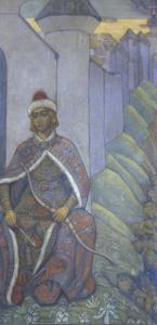 A Knight, 1910 by Nicholas Roerich