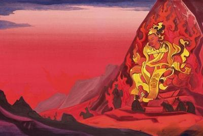 Command of Rigden Djapo, 1933 by Nicholas Roerich