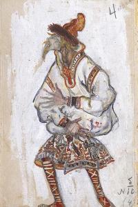 Costume Design for the Ballet the Rite of Spring (Le Sacre Du Printemp), 1912 by Nicholas Roerich
