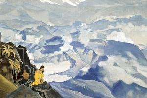 Drops of Life, 1924 by Nicholas Roerich